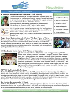 Summer 2010 Newsletter