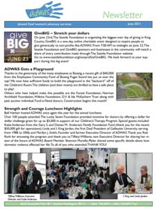 Summer 2011 Newsletter