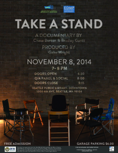 Take A Stand- A Film Premiere @ Seattle Public Library- Downtown | Seattle | Washington | United States