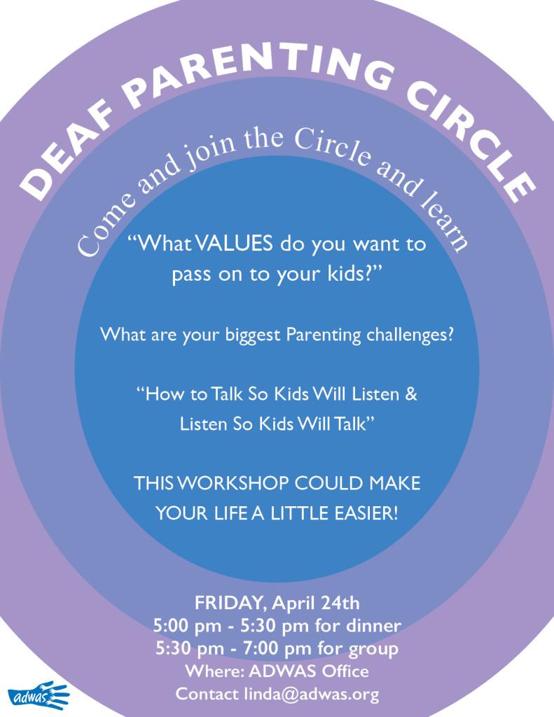 parenting circle flyer aprilb
