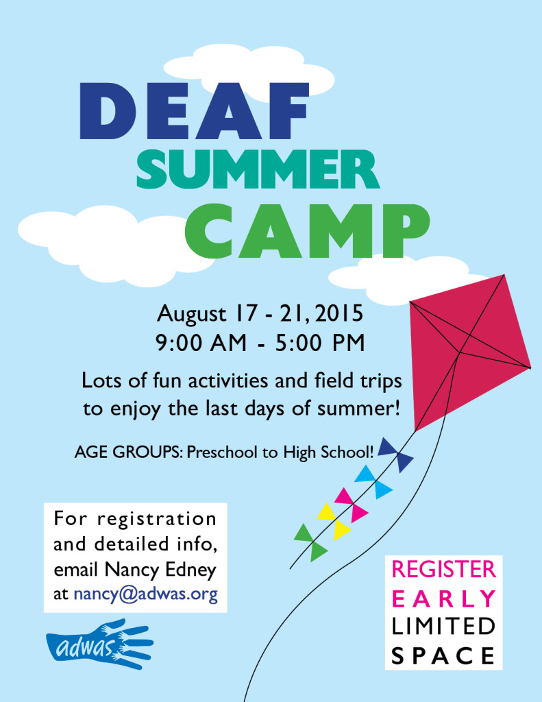 Deaf Summer Camp  @ ADWAS