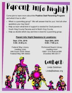 Parent Info Night! - Federal Way @ Federal Way Library | Federal Way | Washington | United States
