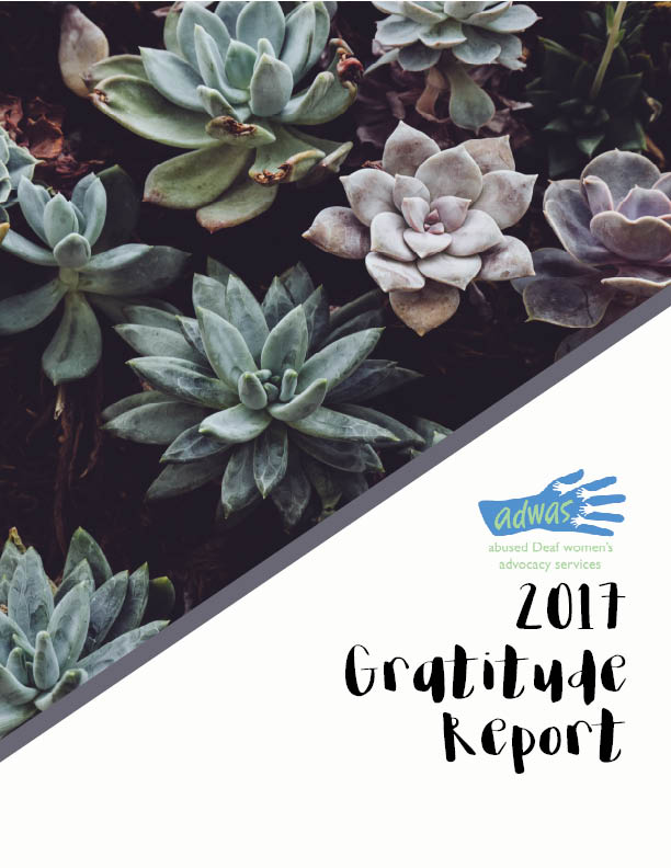 Gratitude Report 2017